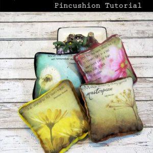 PhotoArt Pincushion Tutorial