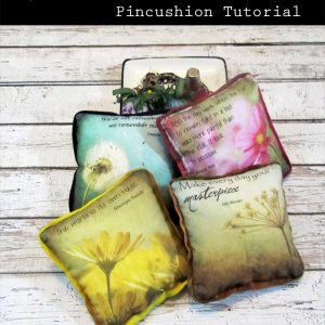 PhotoArt Pincushion Tutorial
