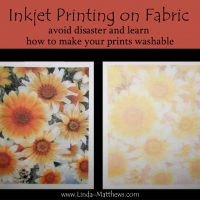 Inkjet Printing on Fabric – How to make your fabric prints washable