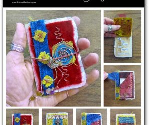 Creative Stitch Alchemy Mini-Journal: Journey – now available with additional resources