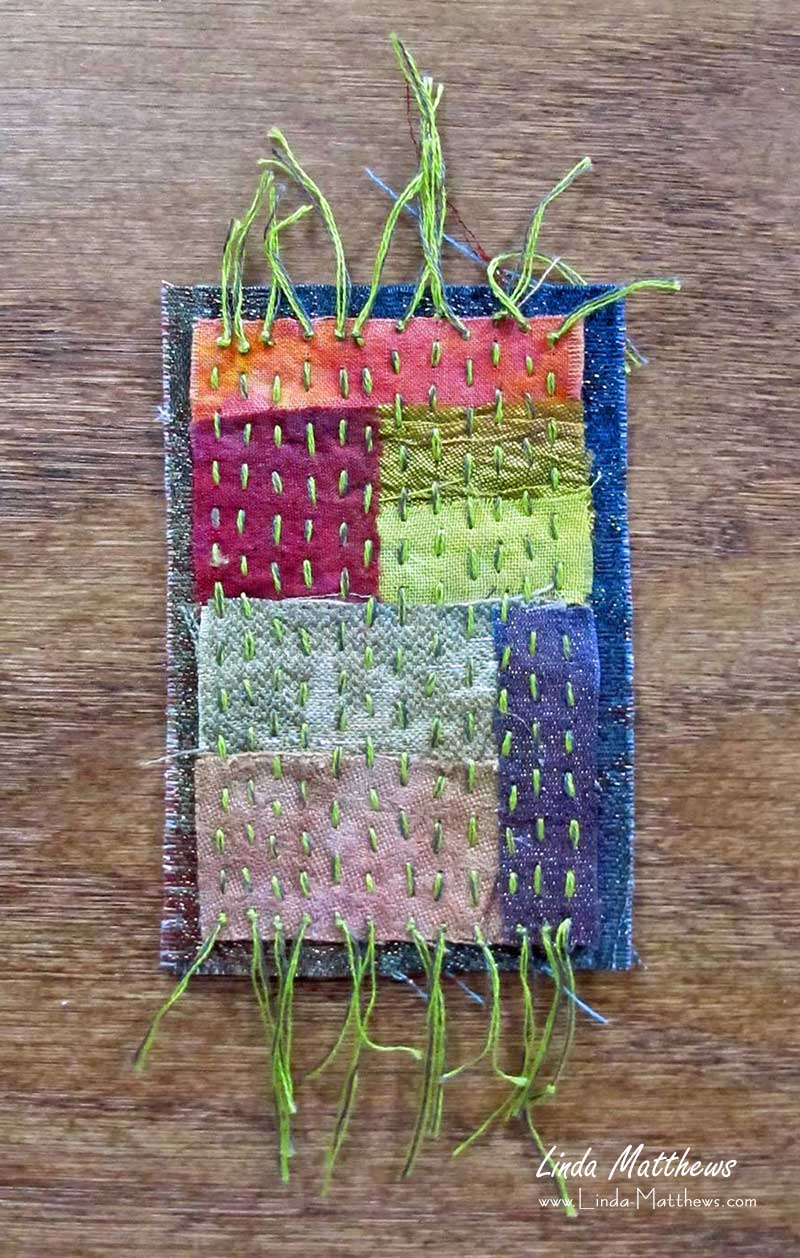 Make Your Own Stitched Mixed Media Mini-Journal