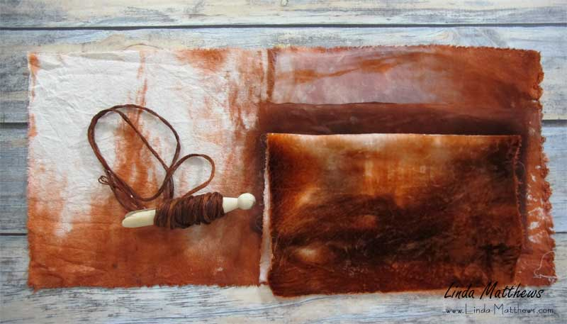 Faux Natural Dyeing using Procion Dyes