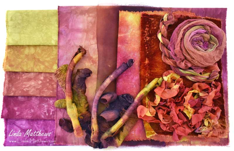 Creating Color with Assemblage Hand-Dyeing