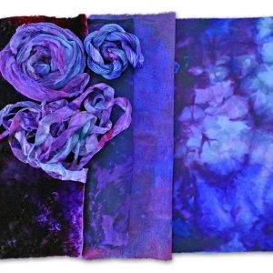 Hand-Dyed Fabrics with Amazing Color and Visual Texture