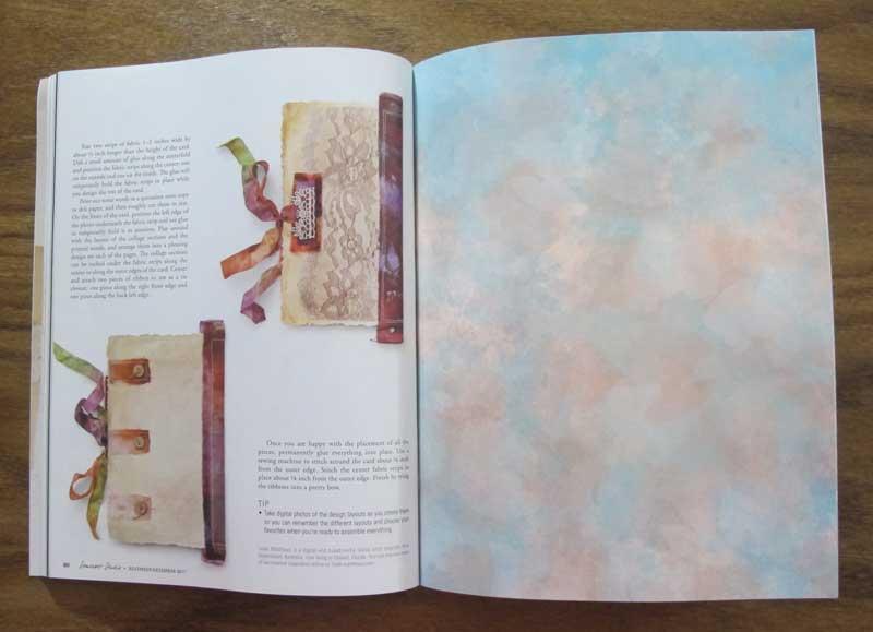 Somerset Studio: Sentiment Cards Project