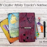 DIY Creative Artistry Traveler's Notebook