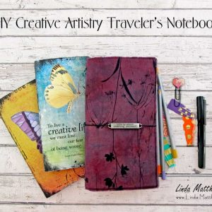 How to Make a Quick and Easy Traveler's Notebook Cover