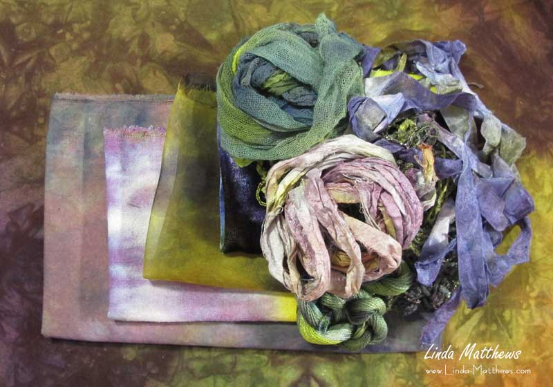 Hand-Dyeing the Colors of Nature