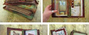 The Nature of Things: a Stitched Mixed Media Journal Workshop