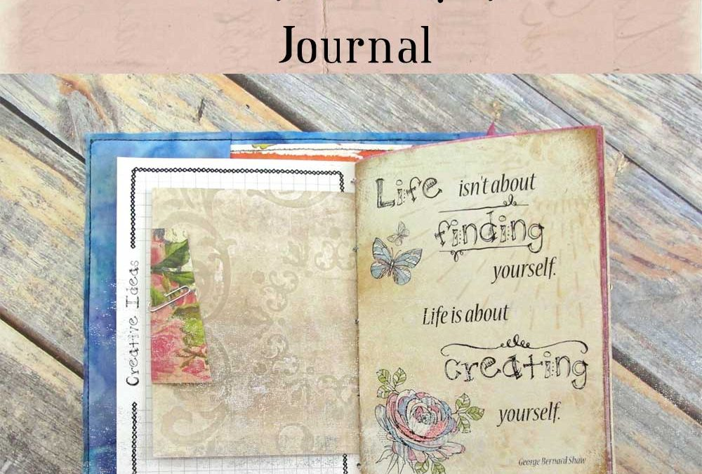 "How to Make a ""Creative Ideas""  Journal"