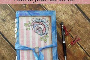 Scrappy Garden Fabric Journal Cover