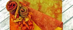 Serendipity Hand-Dyed Fabrics: Falling into Autumn