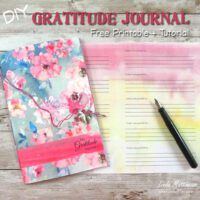 DIY Printable Gratitude Journal