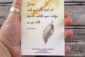 Art Journal Prompt: Unfold Your Wings
