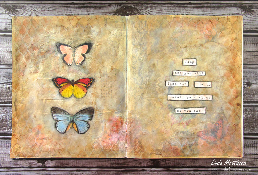 Wild Soul Art Journal Challenge: Wings