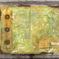 An Art Journal Page: Changes in Nature