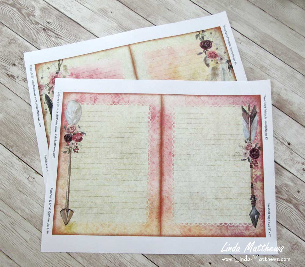 How to make a simple printable journal