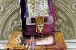 Vintage Style Stitched Mixed Media Journal: Online Video Workshop