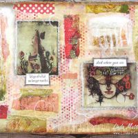 An Art Journal Page: New Beginnings