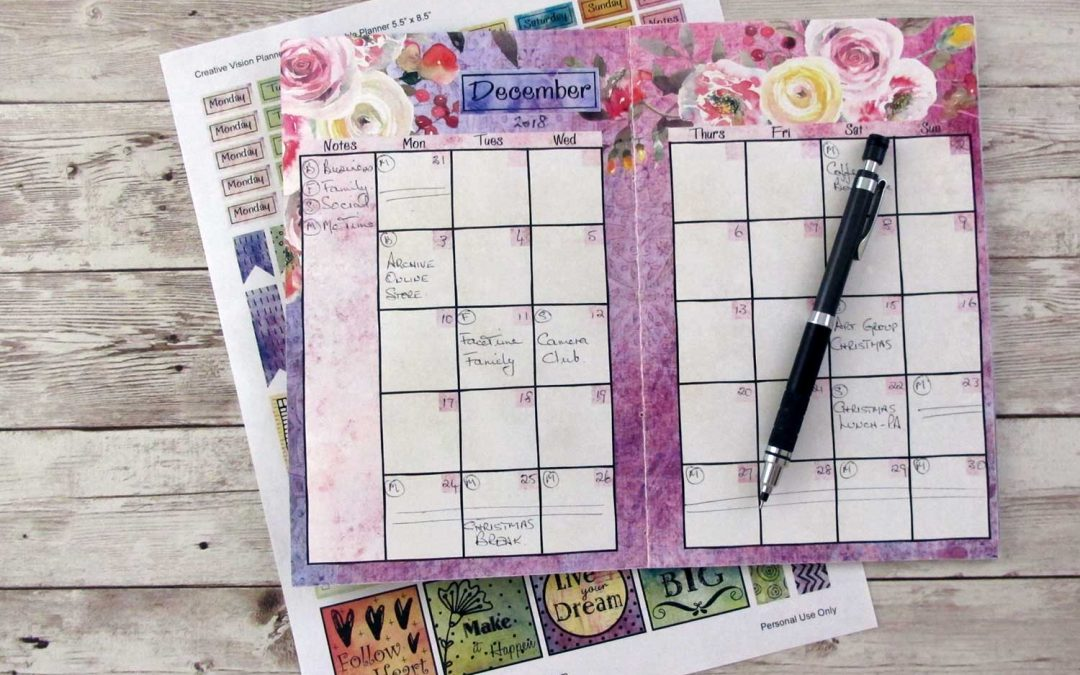 New in the Store: The Creative Vision Planner Journal