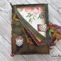 The Summer Garden Stitched Printable Journal