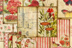 New in the Store: The Wildflower Garden Series of Printable Journals