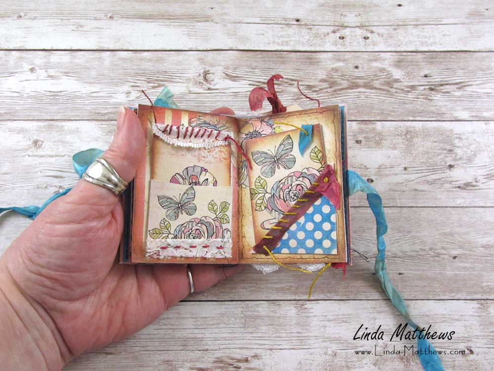 Scrappy Garden Mini Junk Journal Kit