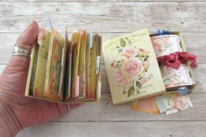 These Mini Junk Journals are Adorable