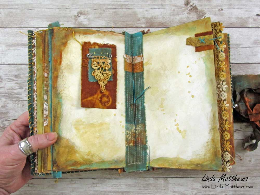 Ancient Earth Journal and Rust Dyeing Online Workshop