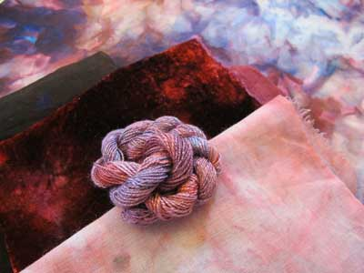 Online Class: Assemblage Hand-Dyeing for Textile & Fabric Artists