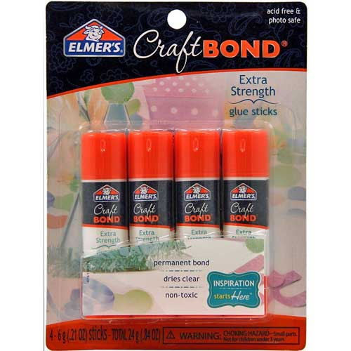Elmers Craftbond Extra Strength Glue Sticks