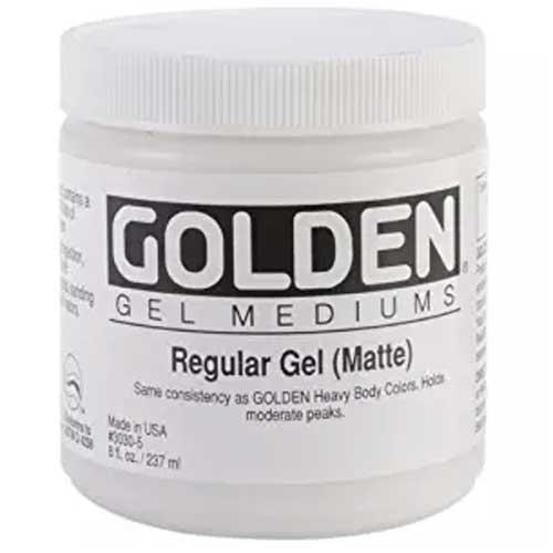 Golden Gel Medium