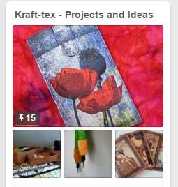 Kraft-tex Pinterest Board