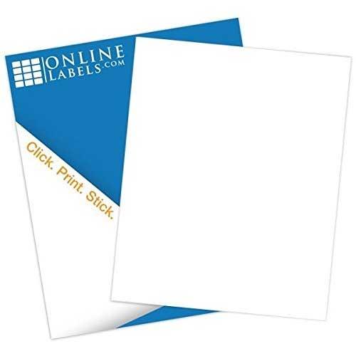 White Sticker Paper